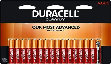 Amazon.com: Duracell – Pilas alcalinas AAA Quantum – larga ...