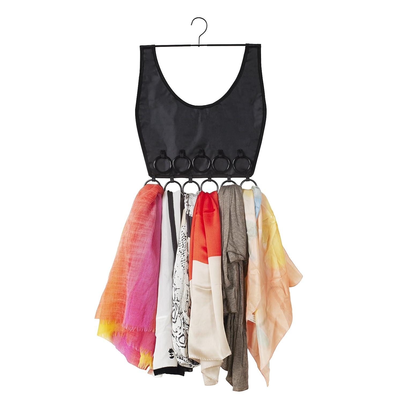 Umbra Boho Dress Scarf Organiser, Black 294016-040