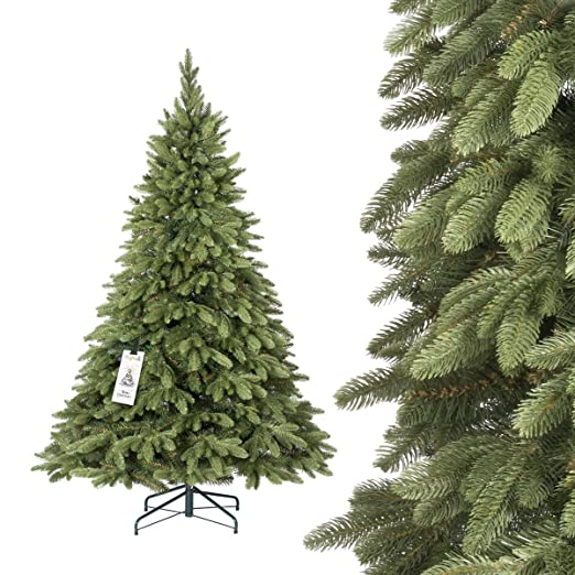 357 opinioni per FAIRYTREES Albero di Natale artificiale ABETE ALPINO PREMIUM, mix di materiali