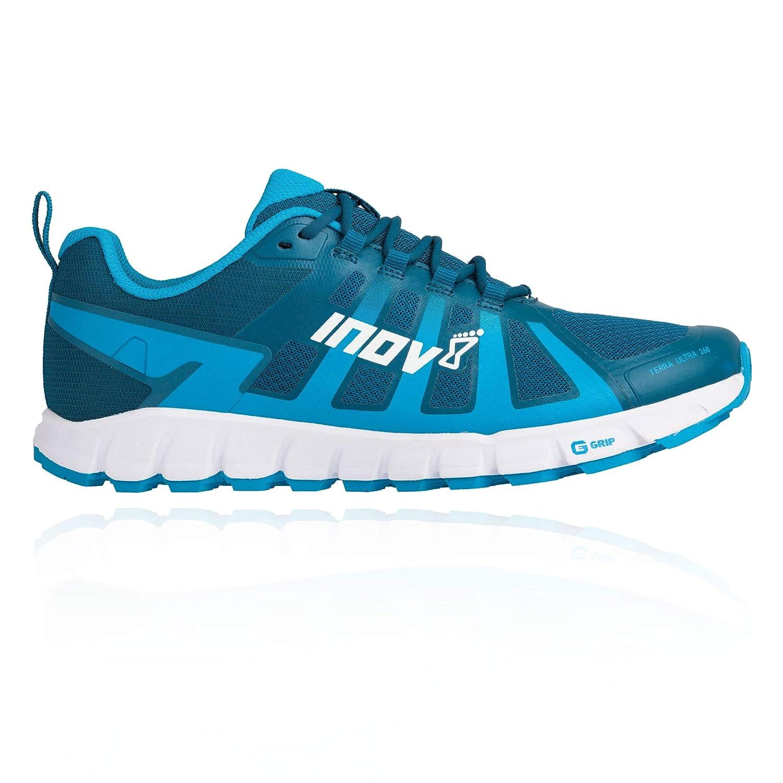 - INOV-8 Terraultra 260 Chaussures de Course sur Sentier pour Homme, Bleu, 43