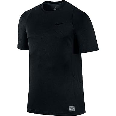a5ba168b87f2 Nike Elite Shooter 2.0 Men s Basketball T-Shirt Black Black 718369-010 (