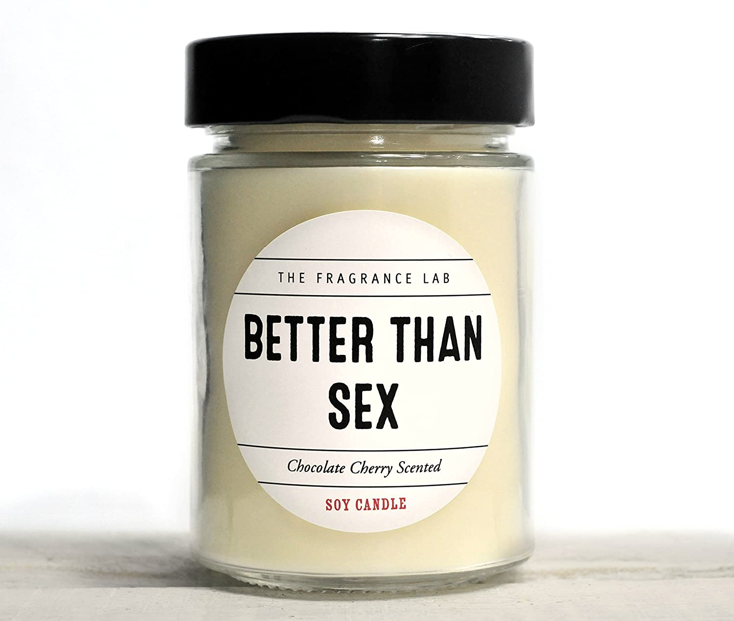 Soy Candle -Better than Sex Chocolate Cherry Scented | The Fragrance Lab