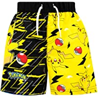 Pokemon Boys Pikachu Swim Shorts