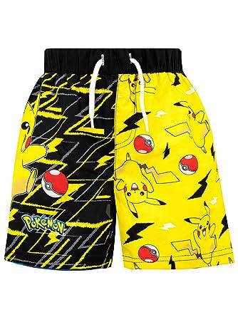 AYK Boys Pokemon Swim Shorts Trunks Holiday Swimming Beach