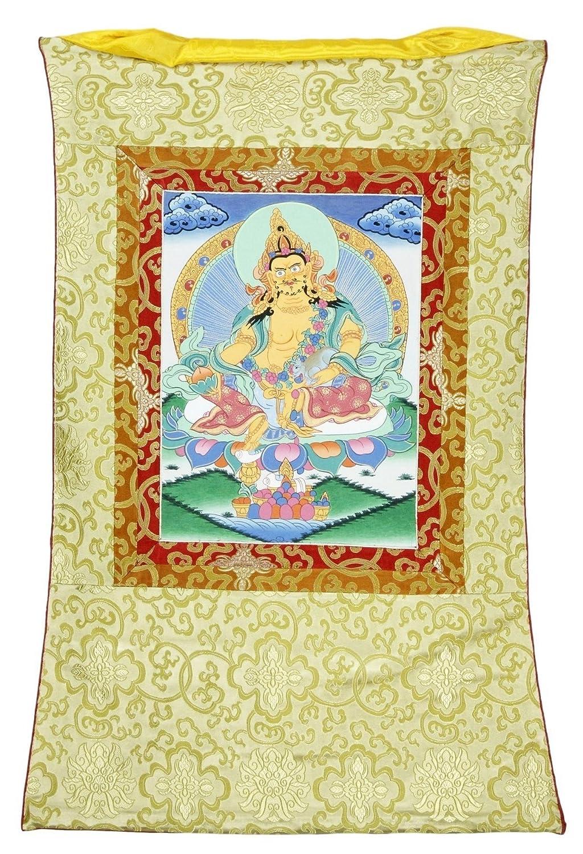 Amazon.com: Asian Wall Art Thangka Decorative Painting Silk Canvas ...