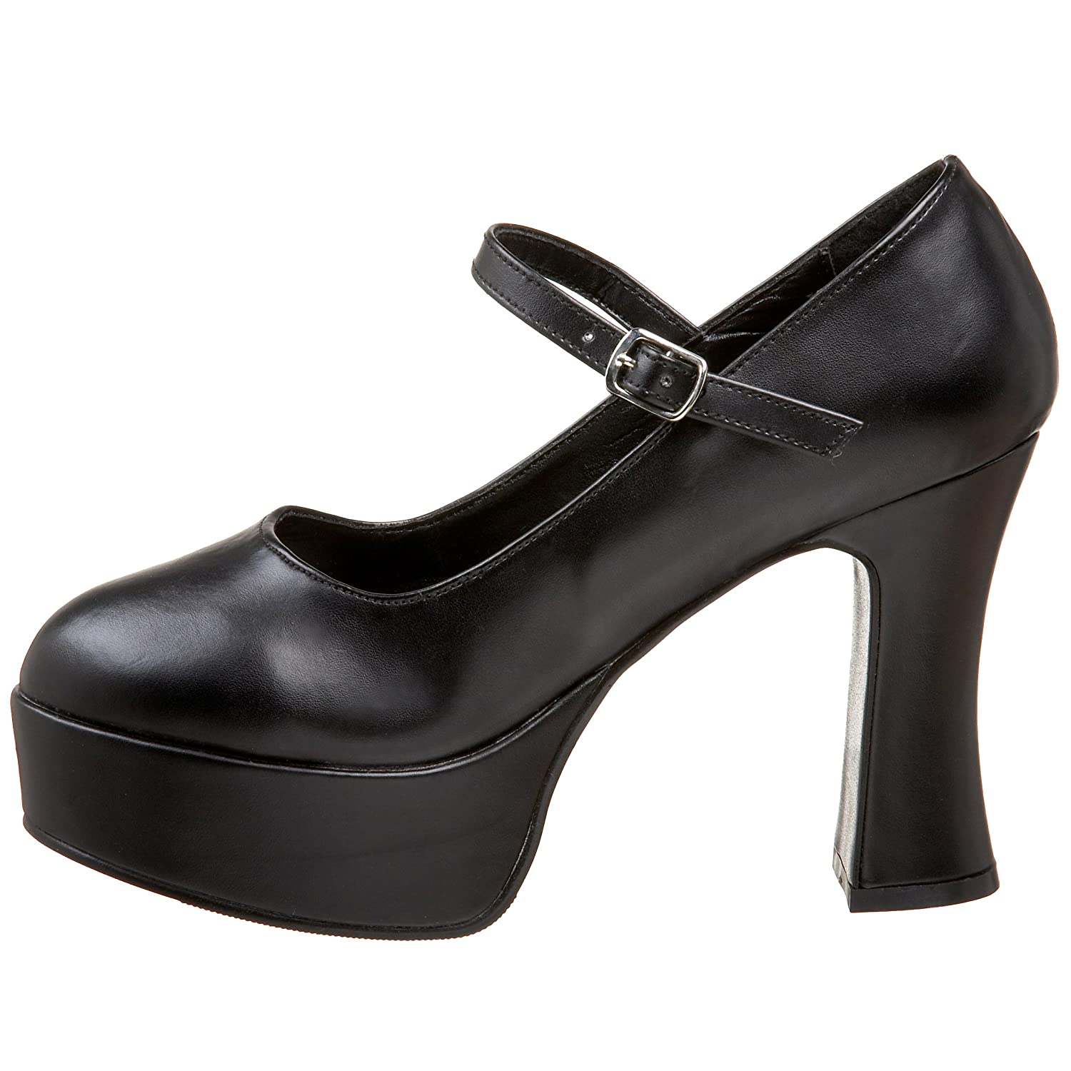 Funtasma MARYJANE-50 Plateau Damen Retro Plateau MARYJANE-50 Pumps Schwarz (Black) 87e89d