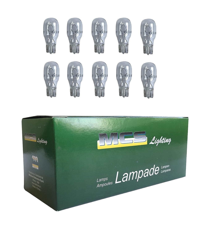 Melchioni 322199939Lampe 12V 18W T15, lot de 10 lot de 10