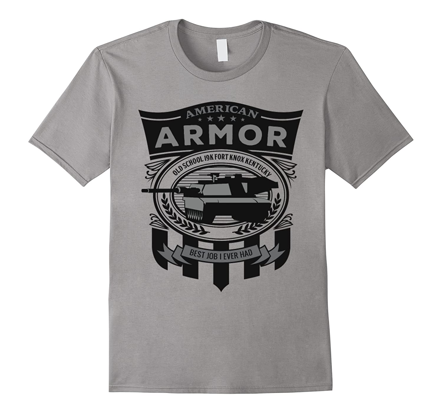 American Armor Old School - Best Job I Ever Had Tshirt-TJ