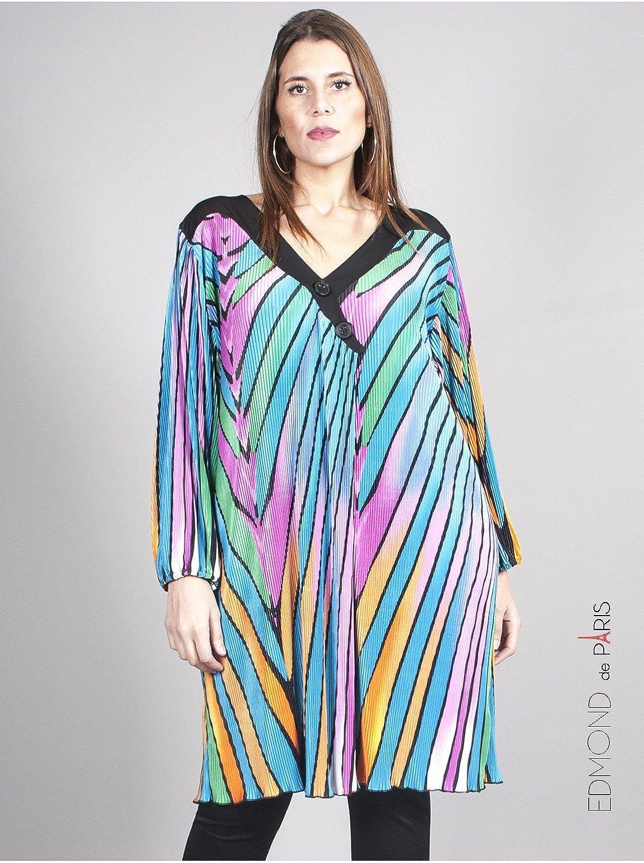 Edmond Boublil Women's Pleated Dress