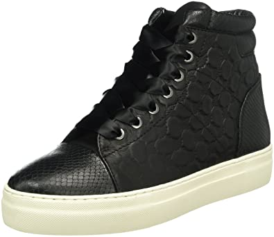 Womens Daphne High Sneaker I Soft Leather Trainers Joop