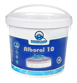 Quimicamp 201205 - Cloro Rapido Alboral 10 Efect T-250G 5Kg: Amazon.es: Bricolaje y herramientas
