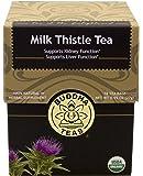 Milk Thistle Tea - Organic Herbs - 18 Sachets Bleach Free Tea Bags From Buddha Teas