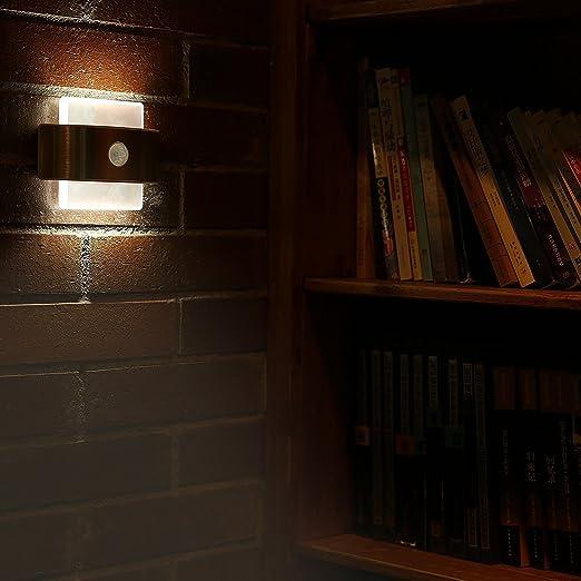308 opinioni per Luce Parete del Sensore di Movimento, Kingland Stick-on 14 LED Attivato dal