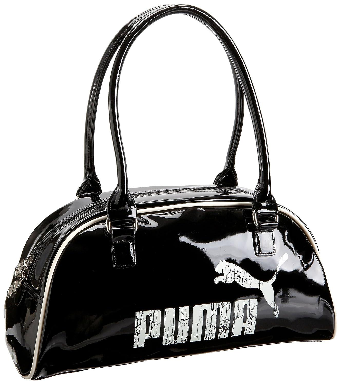 dbf51fe9abffd Amazon.com: Puma Special Handbag Satchel,Black/Gardenia White,one ...