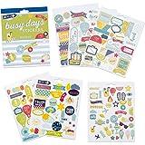 Boxclever Press Stickers Planner & Agenda. Autocollants pense-bêtes sur le thème des vacances (210 total). En papier feuille d'or illustré & vif, vinyle & en relief pour planners et bullet journals