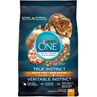 Purina ONE True Instinct Grain Free Natural Dry Cat Food with Real Chicken, 1.45 kg