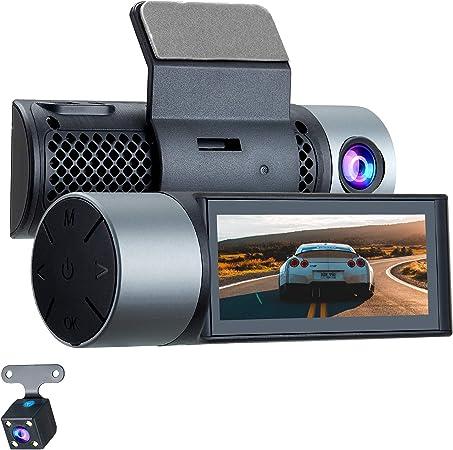 Grundig 3 16 Zoll Dashcam Auto Vorne Und Hinten 1080p Elektronik