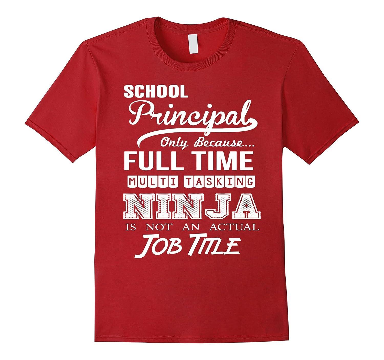 School Principal Job Title Shirt-TD