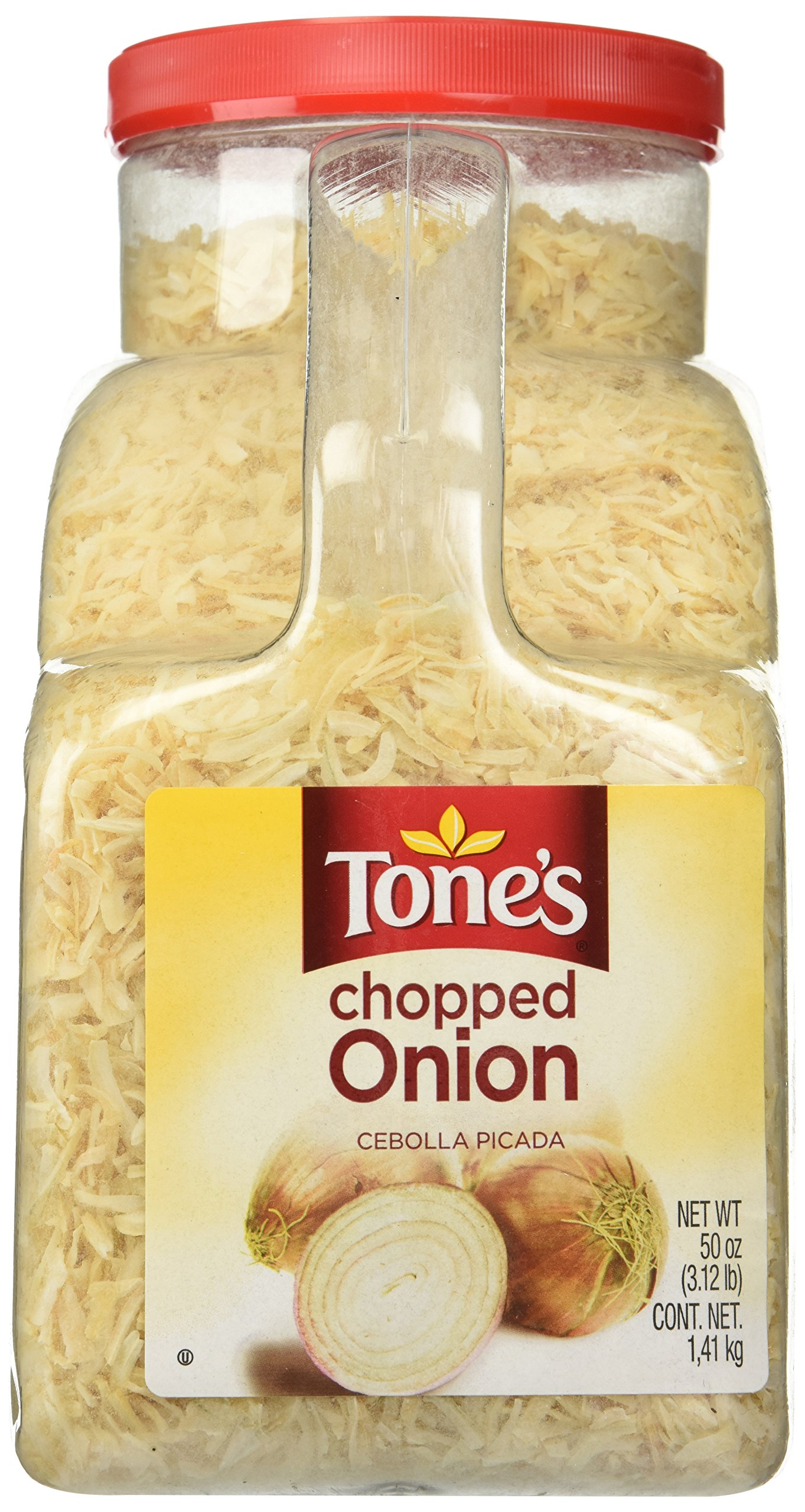 Tone's Chopped Onion - 50 oz.