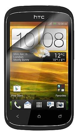 Caseit CSDESCSP - Protector de pantalla para HTC Desire C, Transparente: Amazon.es: Electrónica
