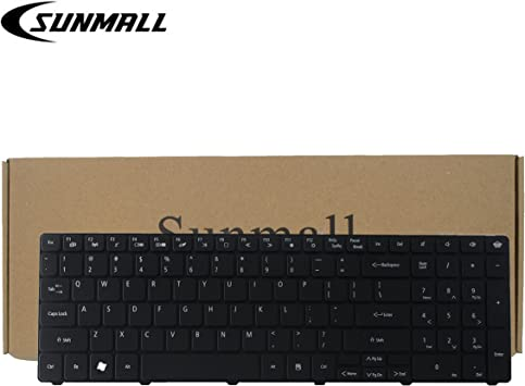 new for Packard Bell GATEWAY TK13 P5WS6 laptop Keyboard US black