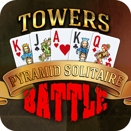 (Towers Battle: Tripeaks or Pyramid Solitaire)