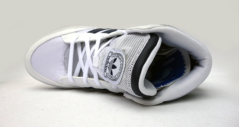 Adidas Hardcourt Kinder Turnschuhe HOch V21145 Weiß Weiß