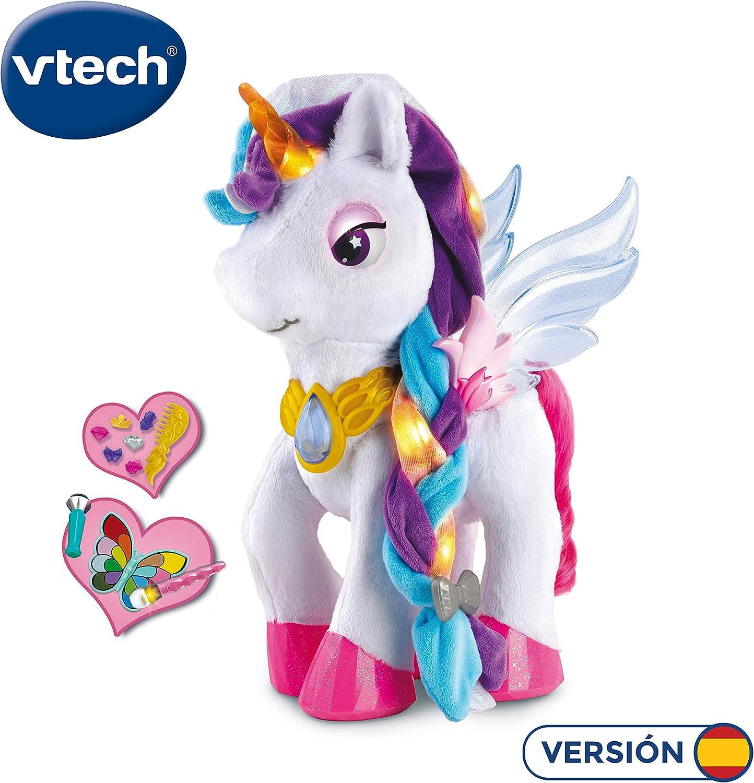 Vtech - Unicornio para Aprender a Maquillar Mientras Descubre Los Colores, Multicolor (80-182522) , color/modelo surtido
