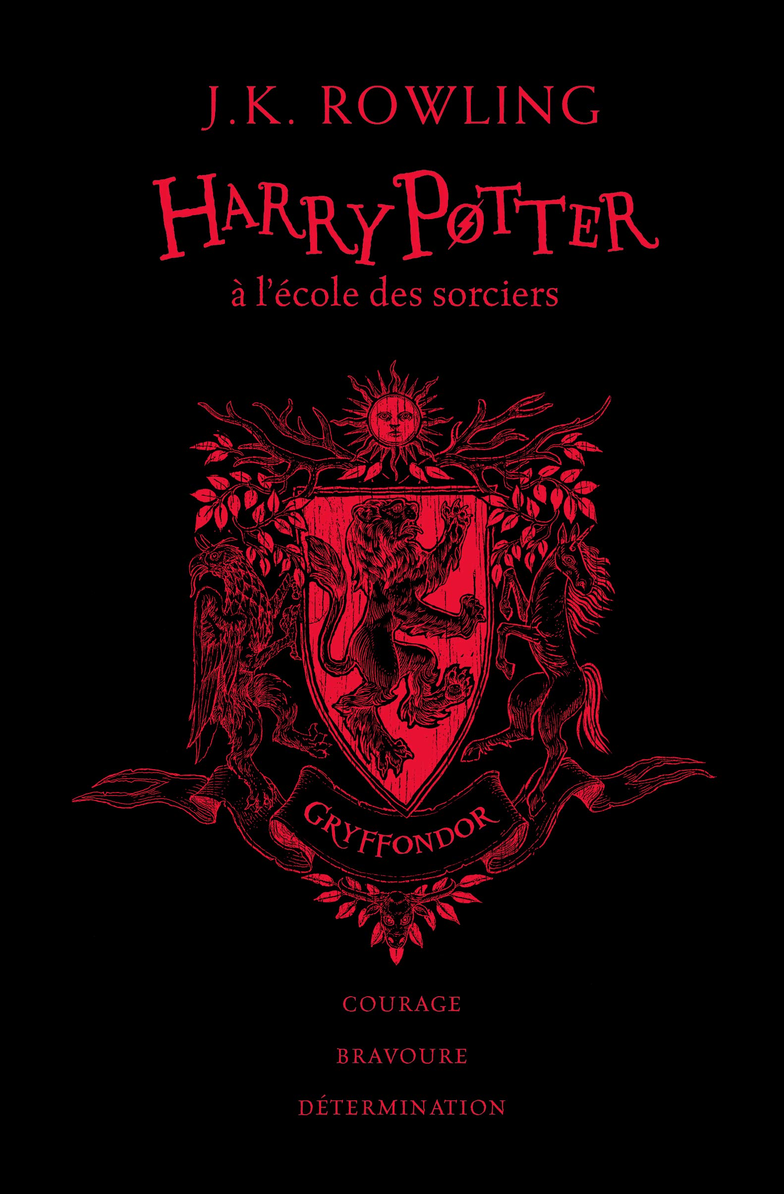 Buy Harry Potter A L Ecole Des Sorciers Edition Gryffondor Book