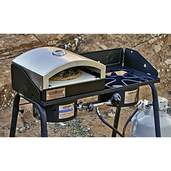 Amazon.com: Campamento Chef 14 inx16in Italia Artisan Horno ...