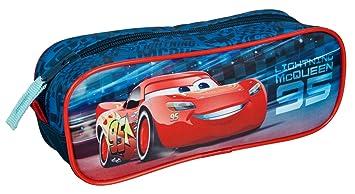 Undercover caad0690 – Estuche Escolar, Disney Pixar Cars 3, 23 x 8 x 7 cm
