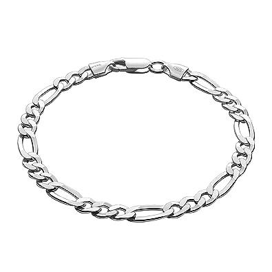 5778186ea8ed4 STERLL Homme Bracelet Argent 925 20cm Écrin Bijoux Cadeau Precieux Pour:  Amazon.fr: Bijoux