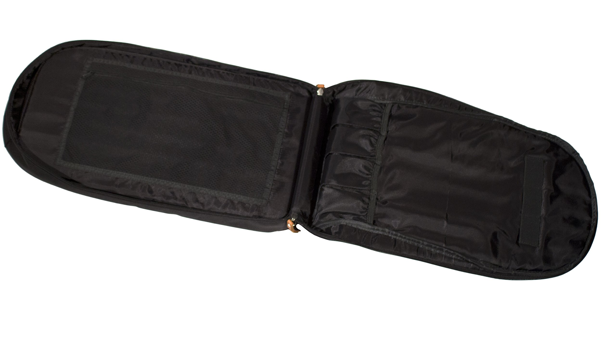 M(sqd) Roundsman Chef Knife Bag, Holds 17 Knives and Utensils with 3 Pockets for Tablet and Notebook by M(sqd) (Image #4)