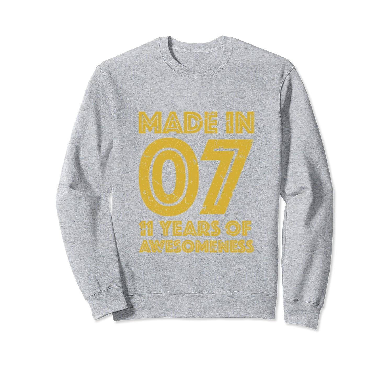 11th Birthday Sweatshirt Gift Girl Boy 11 Yr Old Girls Boys Prm