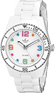 adidas Unisex ADH2941 Brisbane White Watch with Silicone Strap