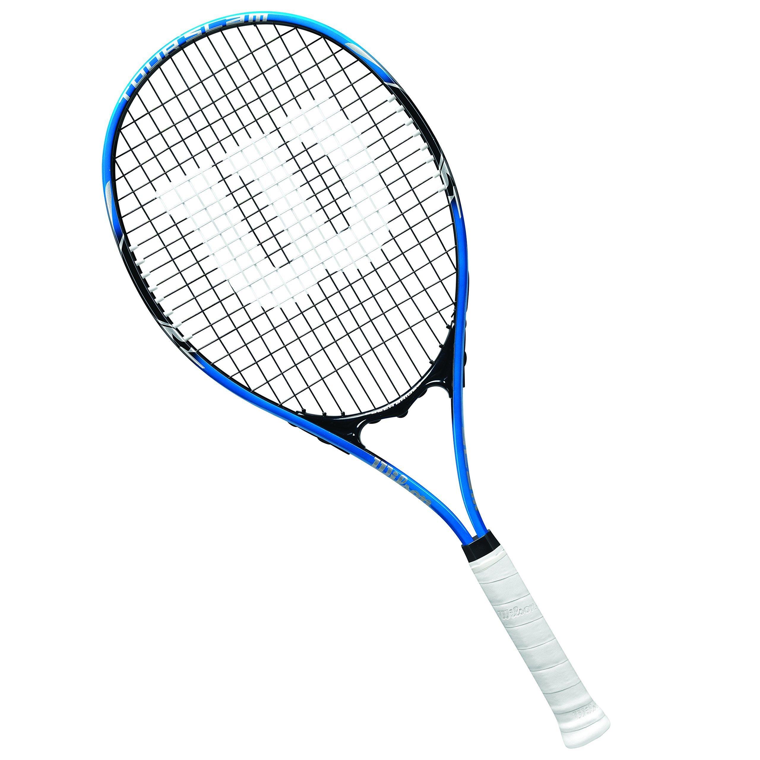 Wilson Tour Slam Lite Tennis Racket, 4 3/8'' - Blue/Black