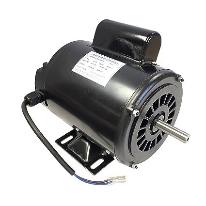 1//3HP 60HZ SKID 48Y FRAME 115VAC ELECTRIC MOTOR 1-PH 1725RPM NEW ODP.