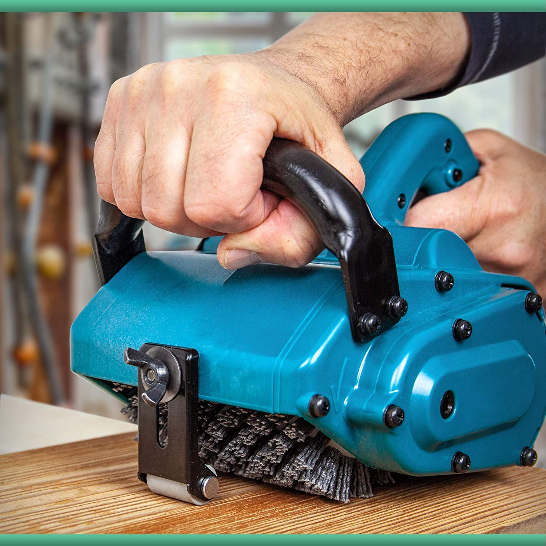 apto para lijadora de cepillo Makita 9741 EHRHOLZ Cepillo de abrasi/ón para madera y metal
