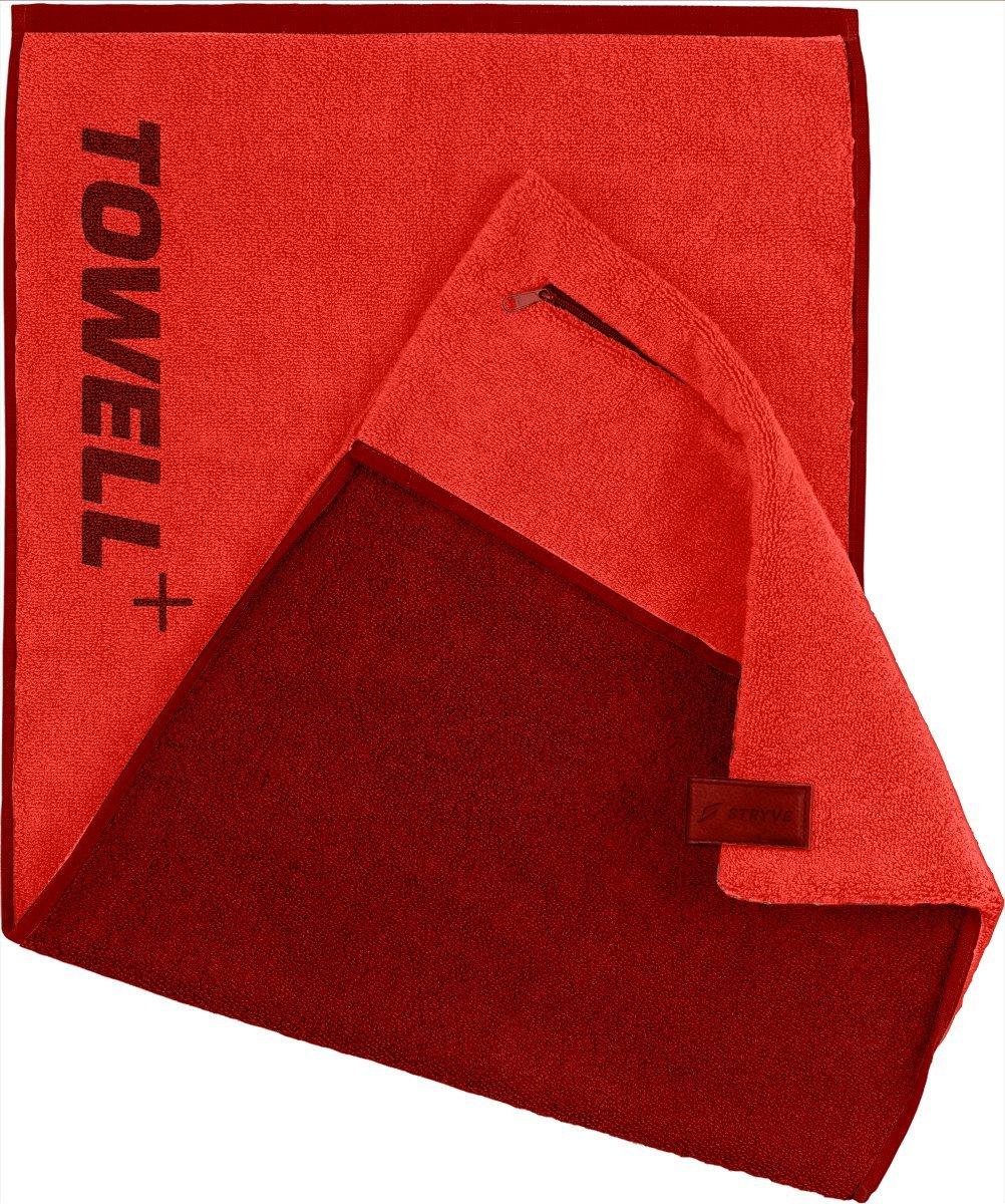 L'asciugamano Towell+ STRYVE con tasca, clip magnetica e protezione antiscivolo - L'asciugamano per lo sport 01271