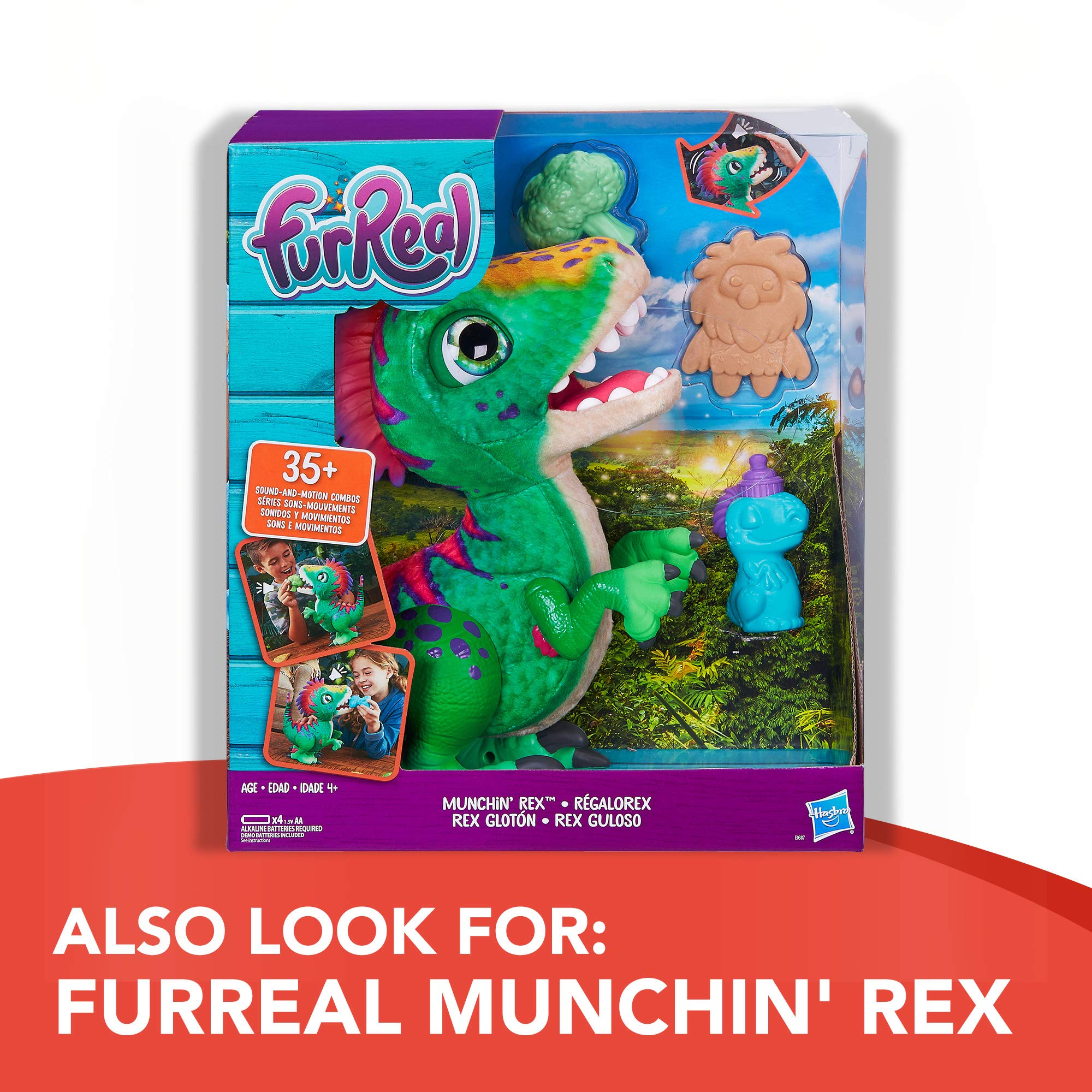 FurReal Friends Ricky, the Trick-Lovin' Interactive Plush Pet Toy, 100+ Sound-and-Motion Combinations, Ages 4 and Up by FurReal (Image #6)
