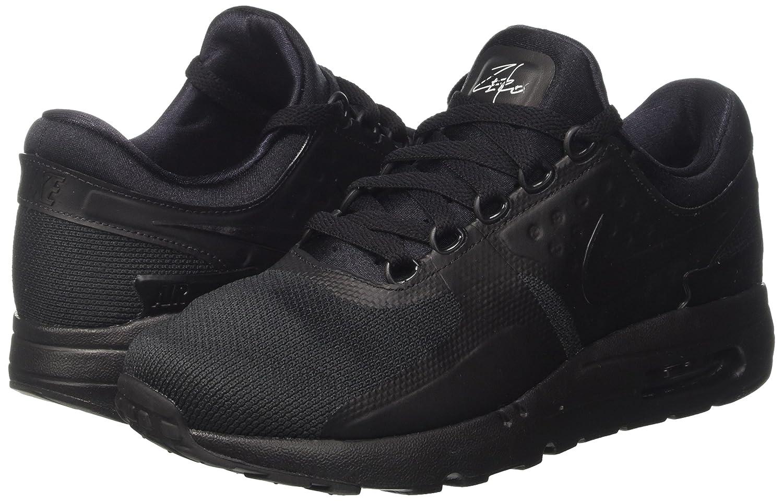 NIKE Air Max Zero Essential Mens Running Shoes B00G9XG5II 6 D(M) US Black Black 006