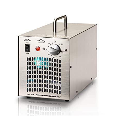 New Comfort Stainless Steel 7000 mg h Commercial Ozone Generator and Air Purifier
