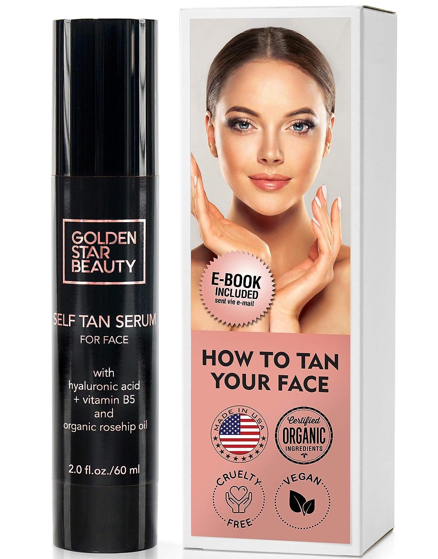 Golden Star Beauty Self-Tan Serum for Face