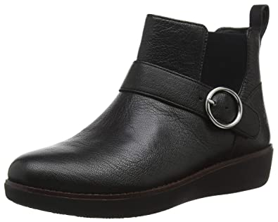 62e4d4f6dfb4 Fitflop Women s Bria Buckle Ankle Boots  Amazon.co.uk  Shoes   Bags
