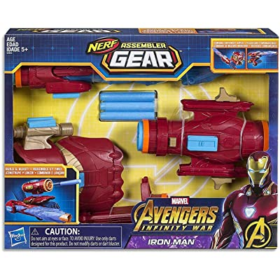 Marvel Avengers: Infinity War Nerf Iron Man Assembler Gear: Toys & Games