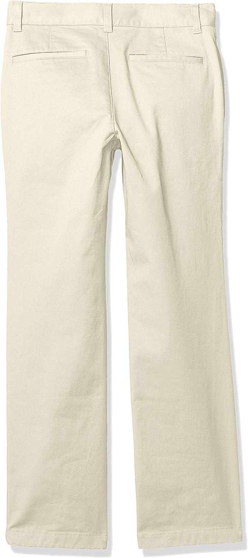 Essentials Straight Leg Flat Front Uniform Chino Pant Bambino