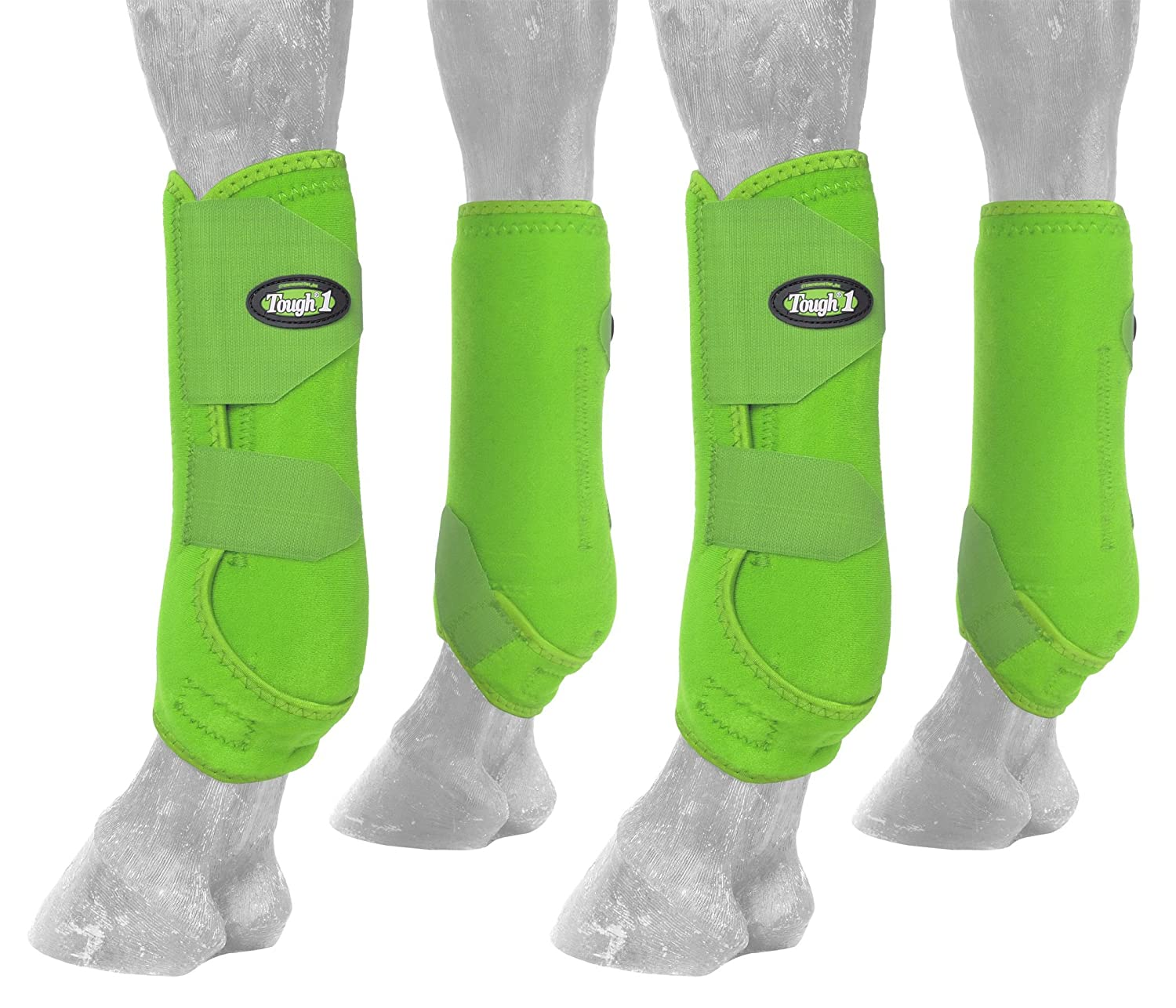 Neon Green Small Neon Green Small Tough 1 Extreme Vented Sport Boots Set