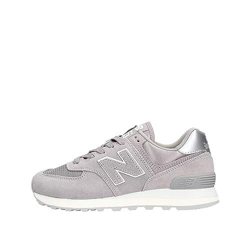 meilleur service 2e420 132bb New Balance 574 Sateen Tab, Sneakers Basses Femme
