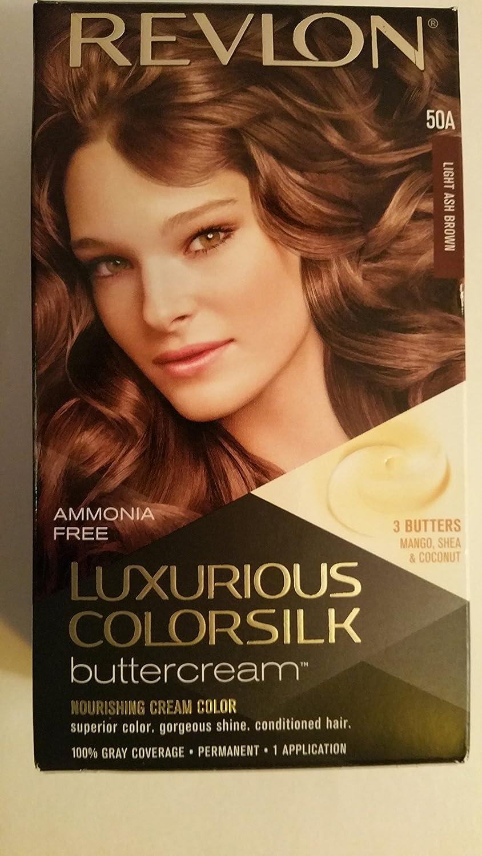 Amazon Revlon Luxurious Colorsilk Buttercream Haircolor 50a