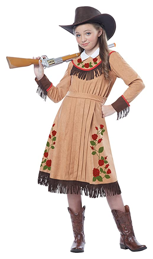 Victorian Kids Costumes & Shoes- Girls, Boys, Baby, Toddler California Costumes Cowgirl/Annie Oakley Girl Costume One Color Large $24.08 AT vintagedancer.com